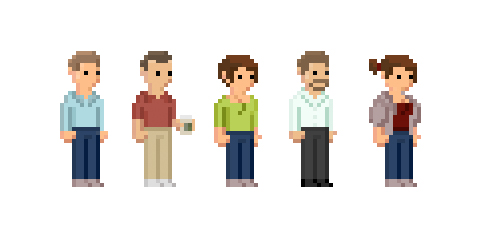 ordinary pixel people 2