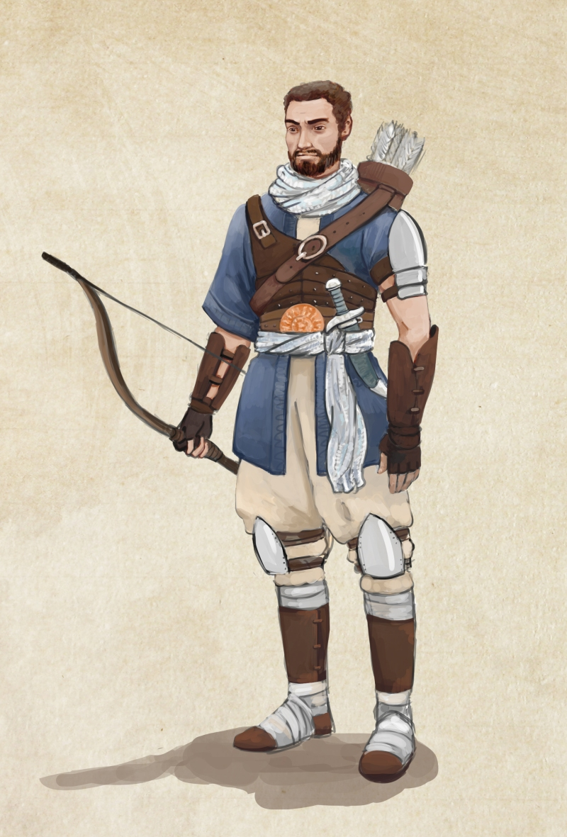 soldier color concept