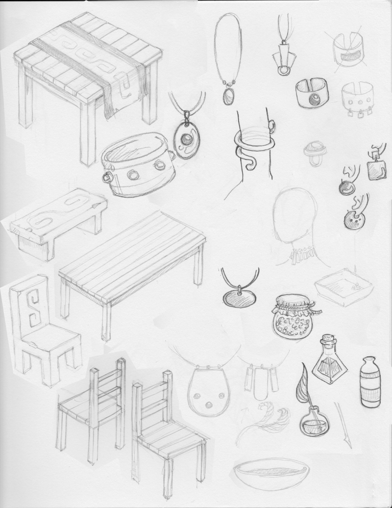 sketchbook page 3